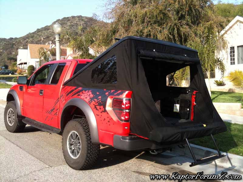 Pickup Truck Bed Tent >> Tonneau Tent | Ford Raptor Forum - F-150 Raptor Forums